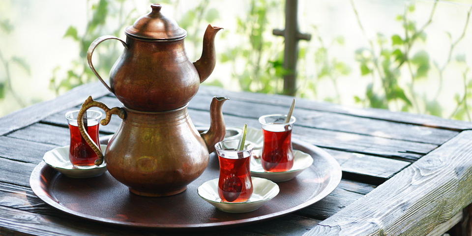 Напитки Турции. Фото.